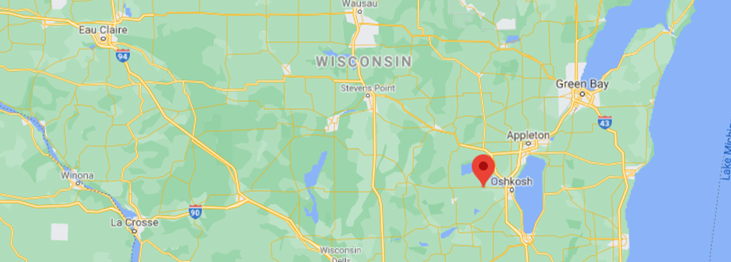 Wisconsin Google Map